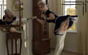 фото наказывают домработницу