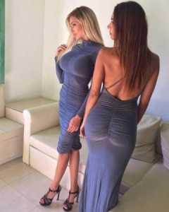 блондинка трахается в обтягивающих штанах